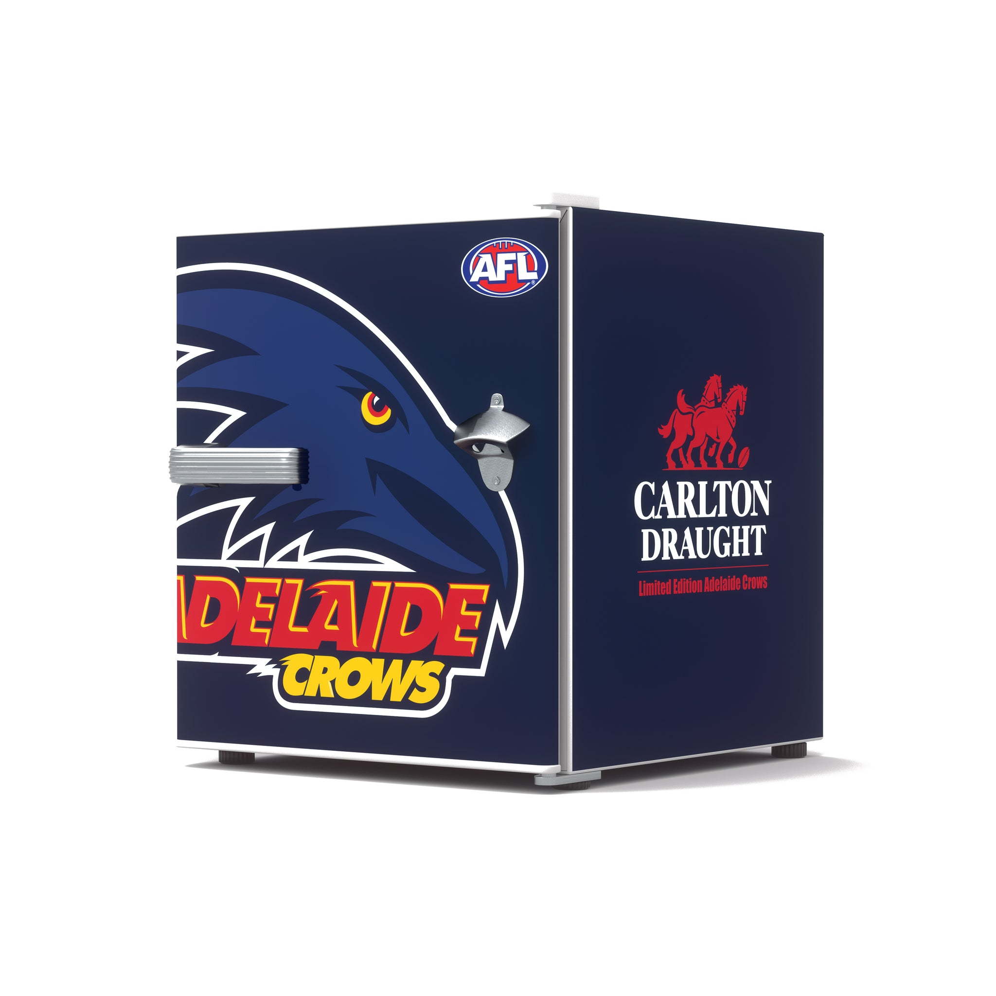 Carlton Draught x Adelaide Crows AFL Bar Fridge