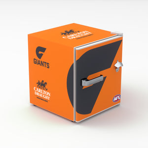 Carlton Draught x GWS Giants AFL Bar Fridge