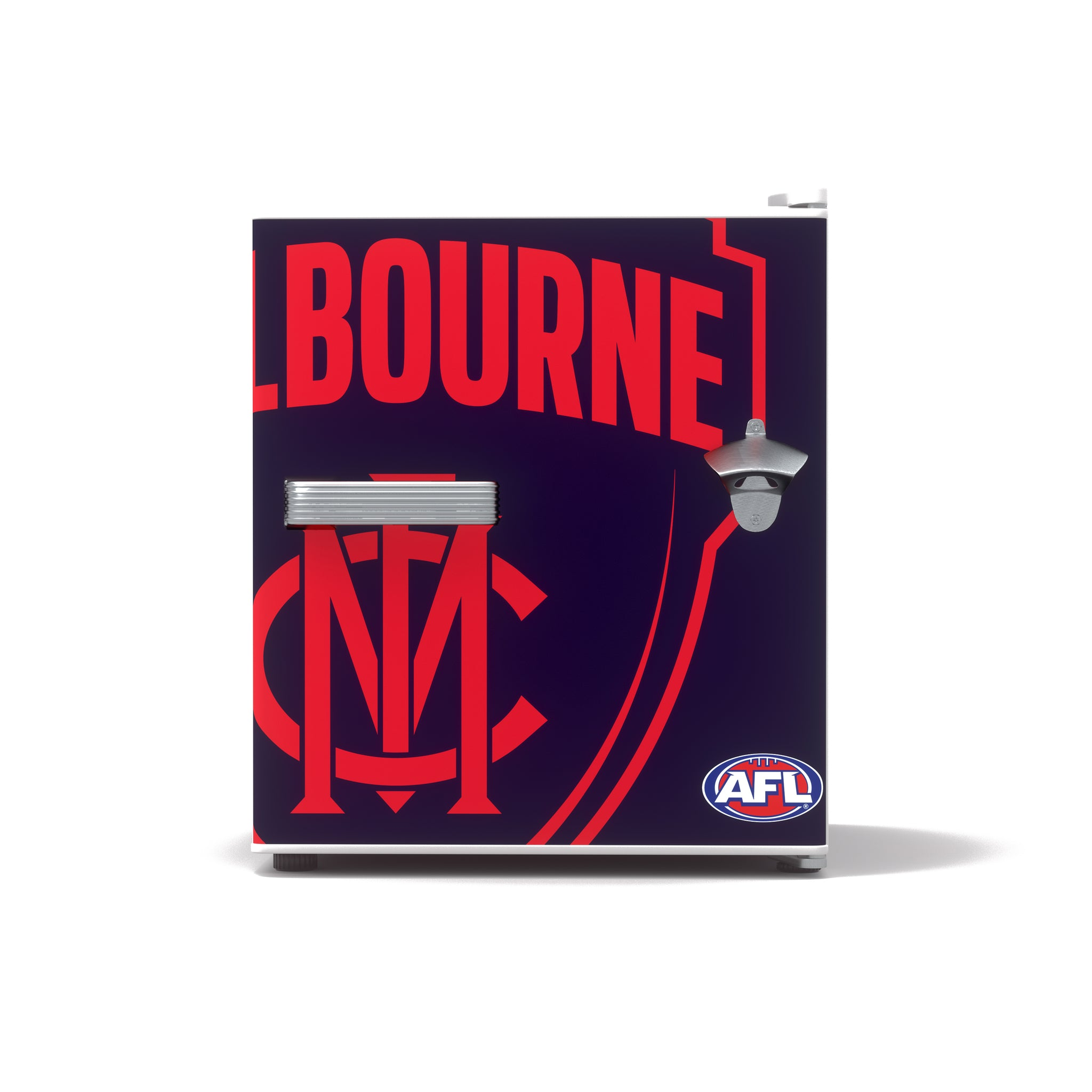 Carlton Draught x Melbourne AFL Bar Fridge
