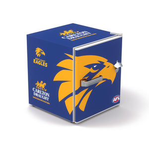 Carlton Draught x West Coast Eagles AFL Bar Fridge