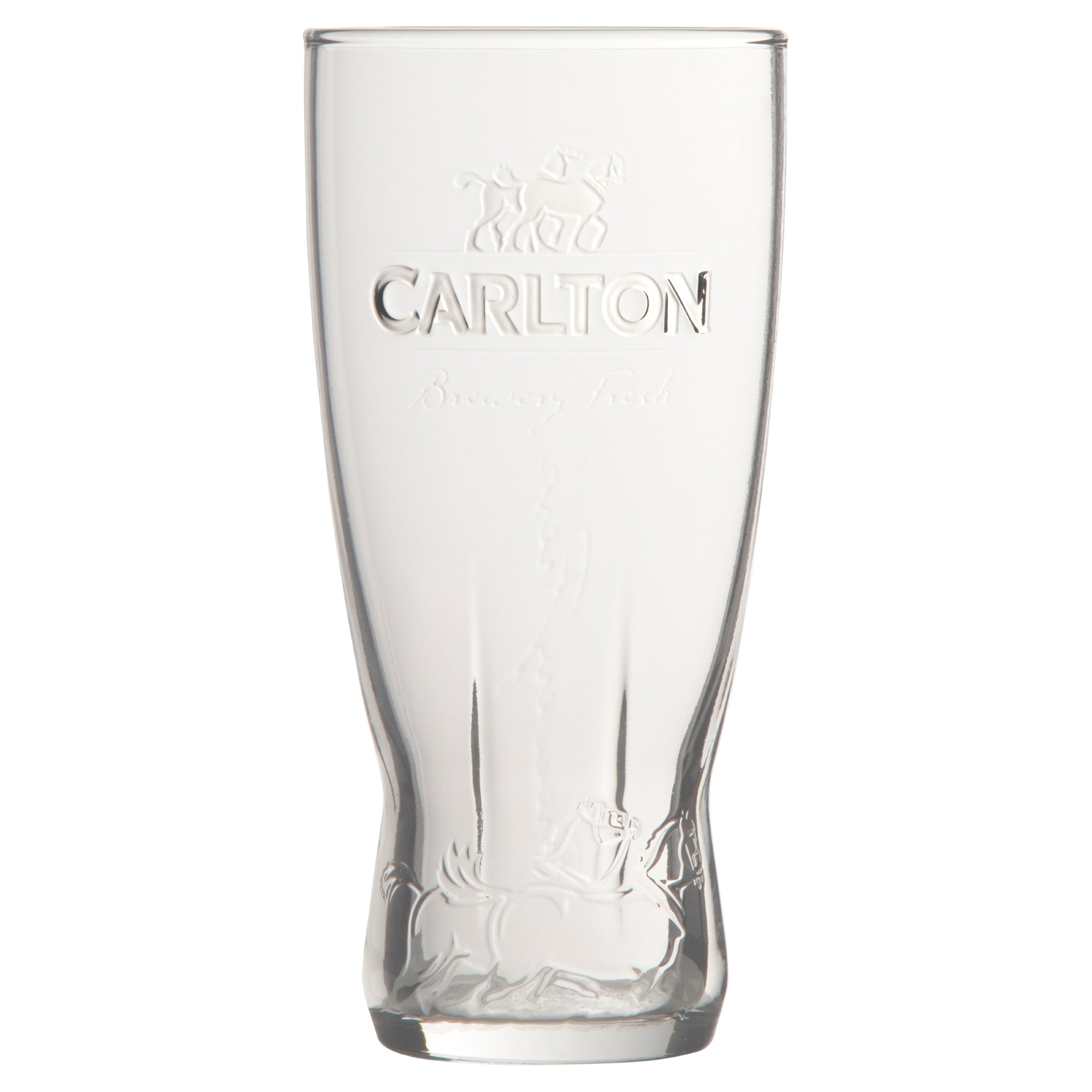 Carlton Embossed Schooners 425ml (Set of 6)