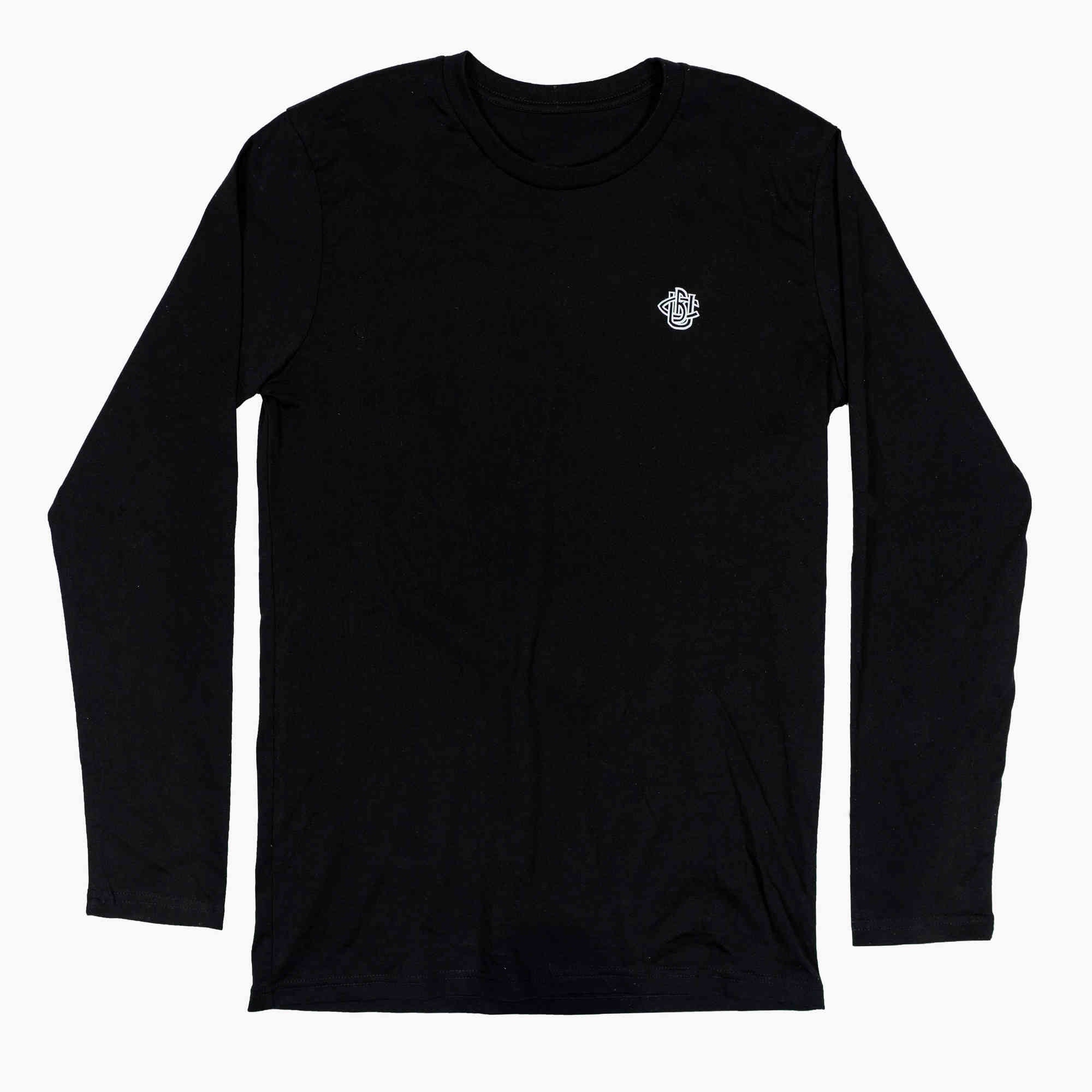 Most Appetising Long Sleeve Tee Black