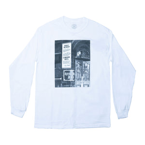 Popular Demand Long Sleeve Tee White