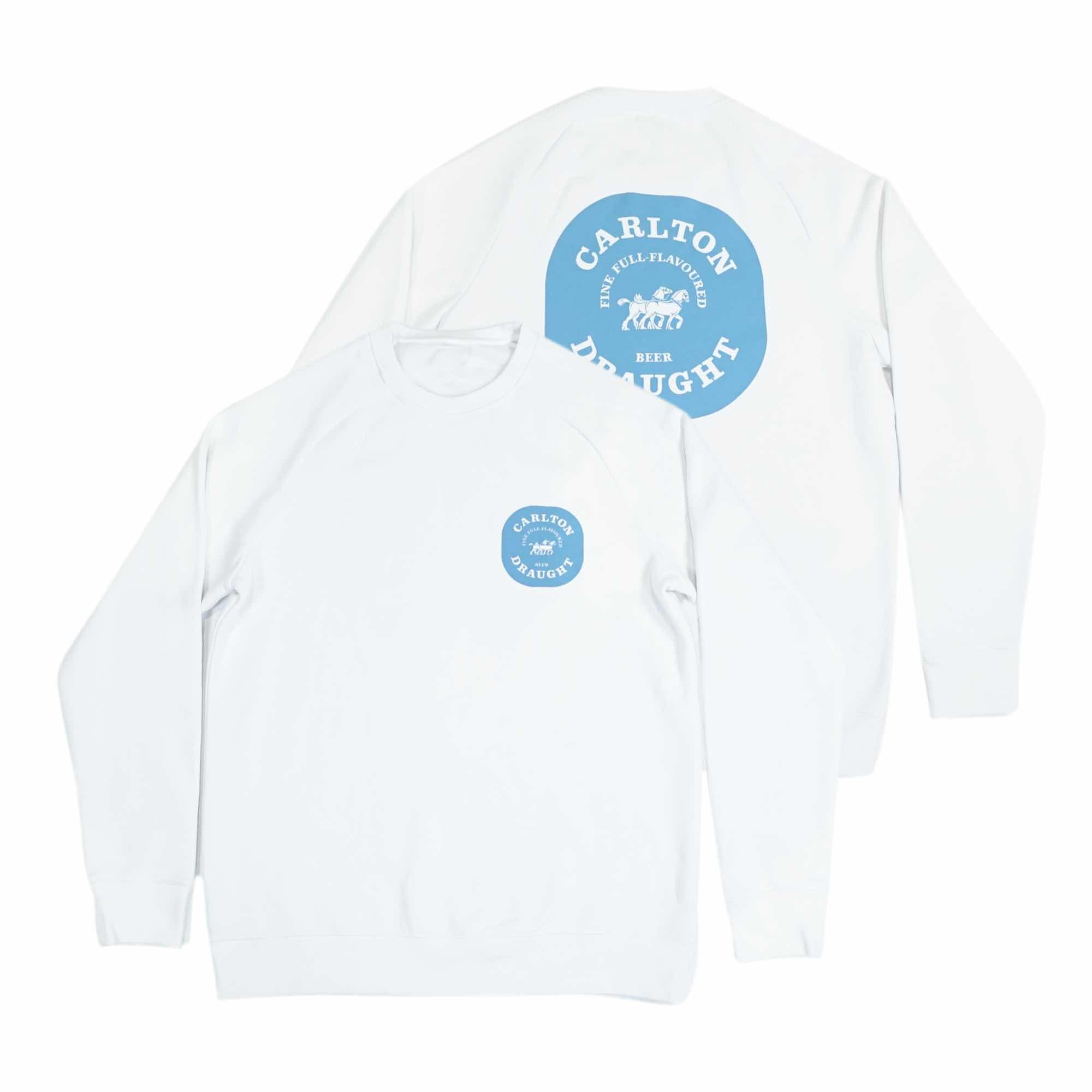 Full Flavoured Long Sleeve Tee - White