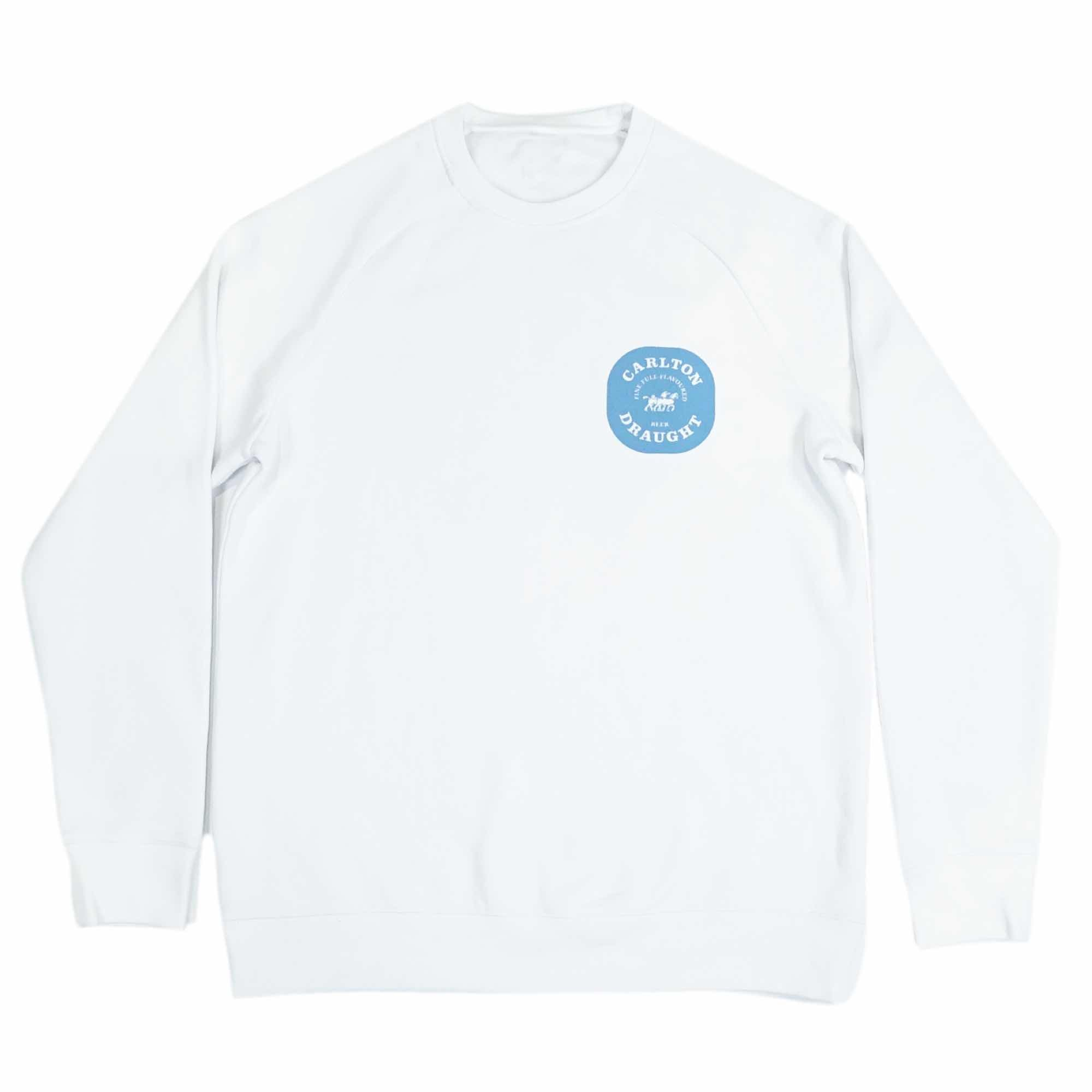 Full Flavoured Sweater - White