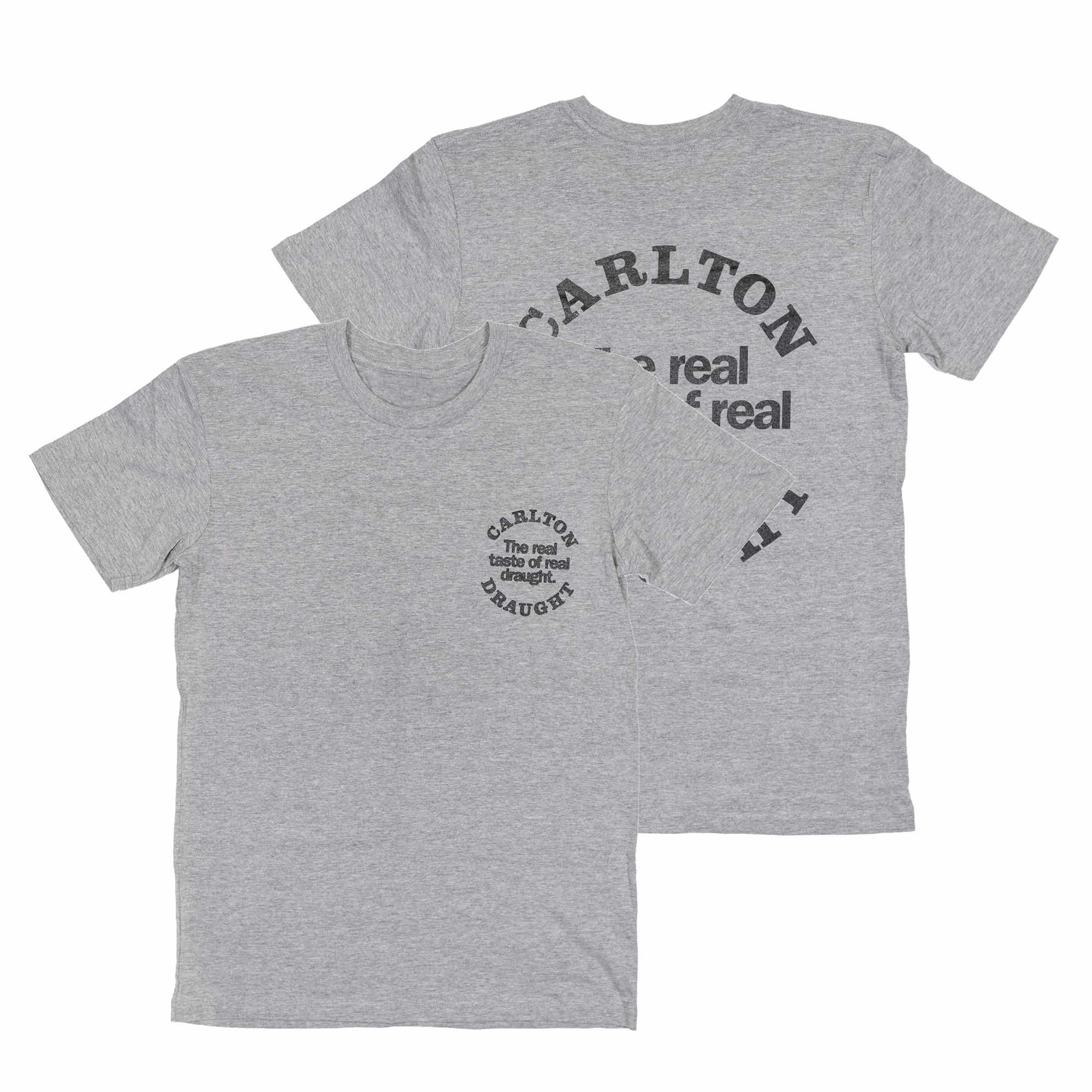 The Real Taste Tee Grey Heather