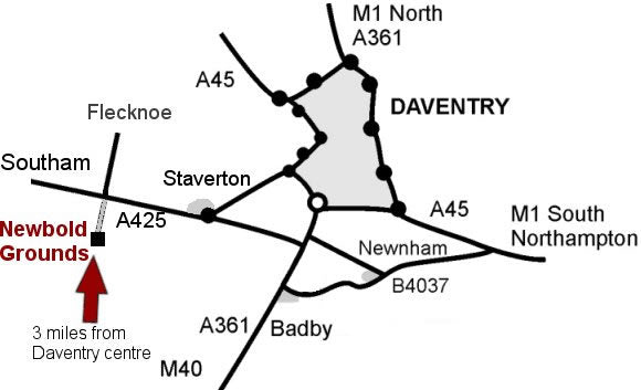 Map Staverton Northamptonshire Jeffries farm. Newbold Turkeys Free Range Christmas Turkeys Hand-reared Family Farm in Northamptonshire. Collection or Courier Delivery.