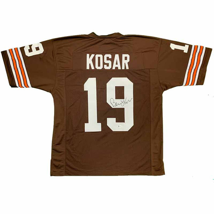 Bernie Kosar Signed Brown Football Jersey