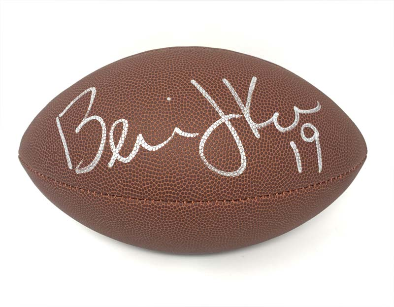 Bernie Kosar Signed Wilson Replica Football