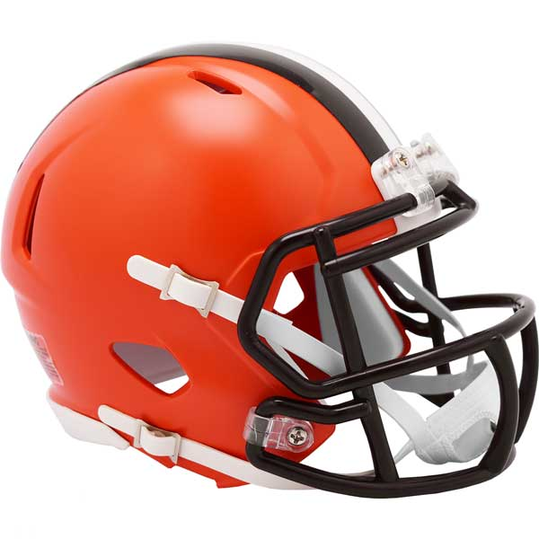 PRE-SALE: Josh Cribbs Signed Cleveland Browns Speed Mini Helmet