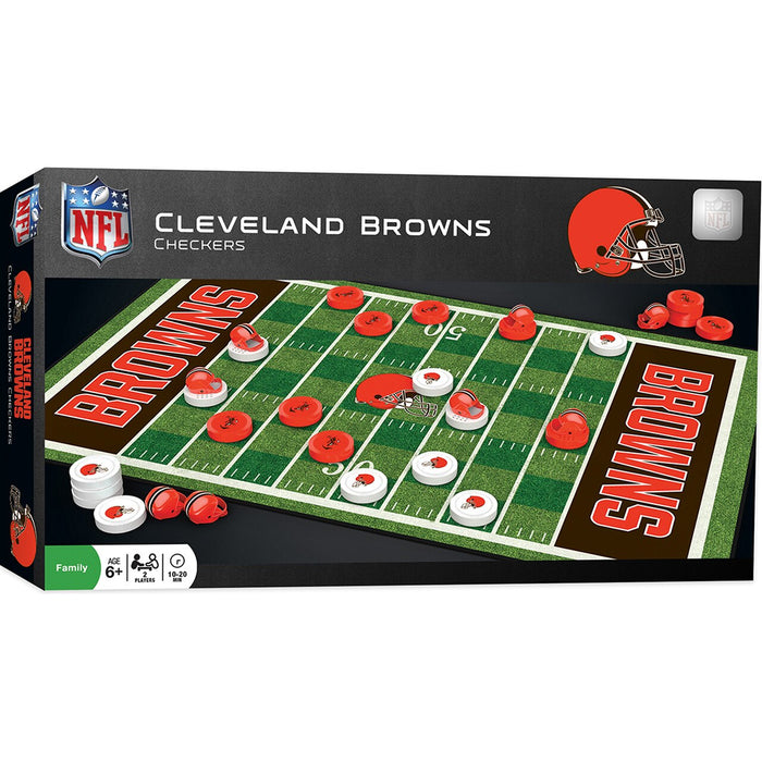 Cleveland Browns Checkers Board Game