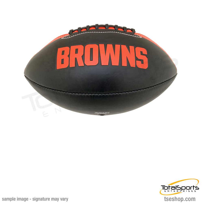 PRE-SALE: Jacob  Phillips Signed Cleveland Browns Black Logo Football