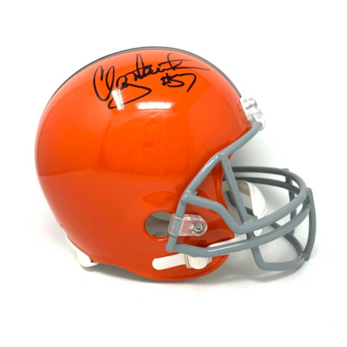 Clay Matthews Jr. Signed Cleveland Browns TB Full Size Helmet