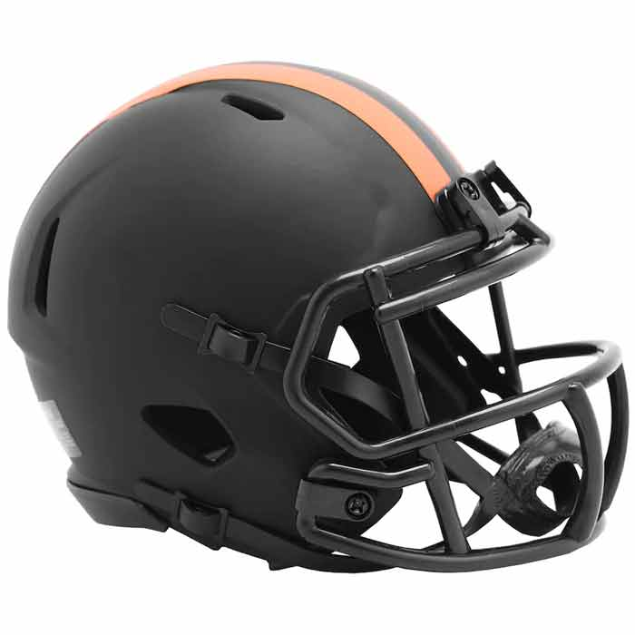 PRE-SALE: Grant Delpit Signed Cleveland Browns Eclipse Mini Helmet
