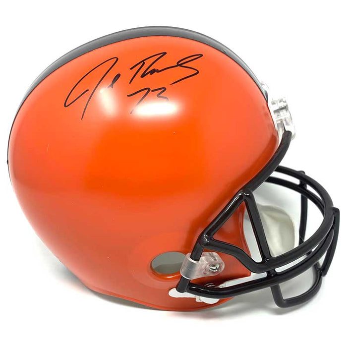 Joe Thomas Signed Cleveland Browns Full Size Replica Helmet