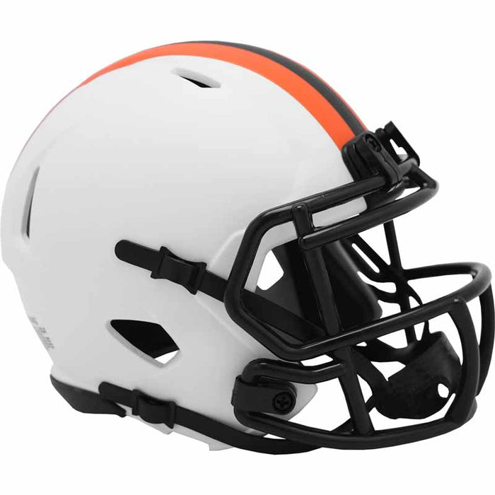 PRE-SALE: Josh Cribbs Signed Cleveland Browns Lunar Eclipse Mini Helmet