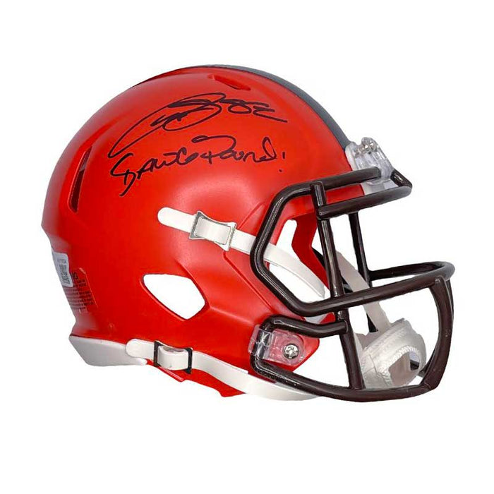 Rashard Higgins Signed Cleveland Browns Speed Mini Helmet with Dawg Pound