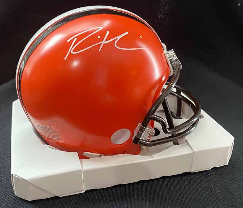 Ronnie Harrison Signed Cleveland Browns Mini Helmet