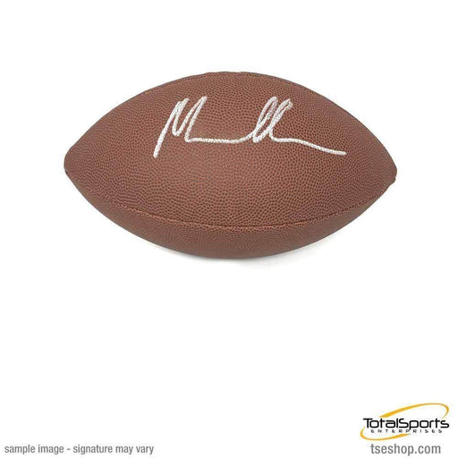 Malik Harrison Signed Wilson Replica Football