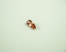 Load image into Gallery viewer, Imperial Topaz Pear Salmon Loupclean Brazil Natural Noheat 2 8Ct