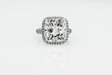 Load image into Gallery viewer, Cushion 10.04 Carats | Platinum Band Engagement Ring
