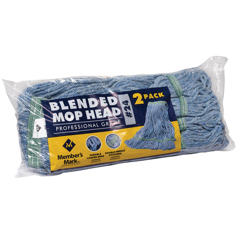 Commercial #24 Blended Mop Head (2 pk.)