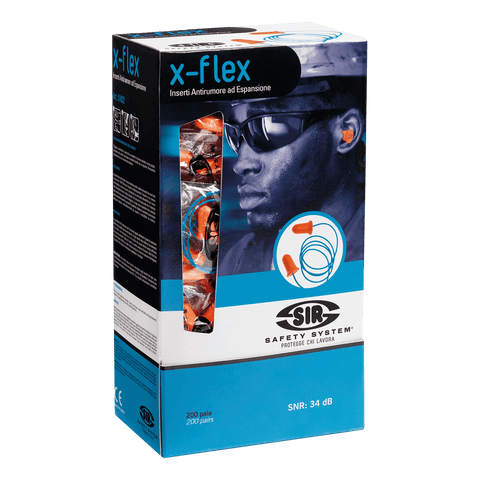 X-FLEX CORDED EARPLUGS