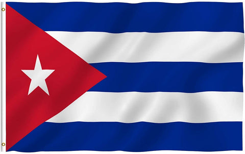 Anley Fly Breeze Series - Cuba Polyester Flag - 3' x 5'