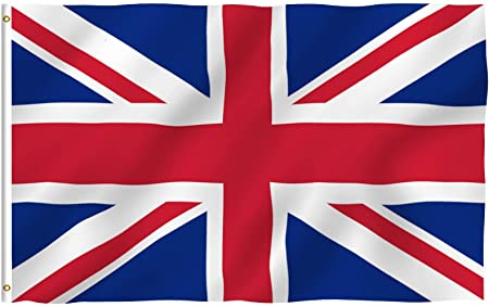Anley Fly Breeze Series - United Kingdom Polyester Flag - 3' x 5'
