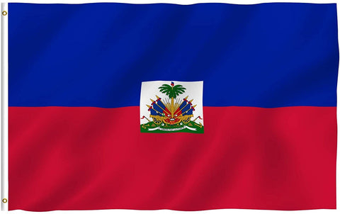 Anley Fly Breeze Series - Haiti Polyester Flag - 3' x 5'