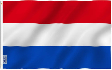 Anley Fly Breeze Series - The Netherlands Polyester Flag - 3' x 5'