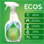 Earth Friendly Products ECOS Parsley Plus All Purpose Household Cleaner, 22 oz