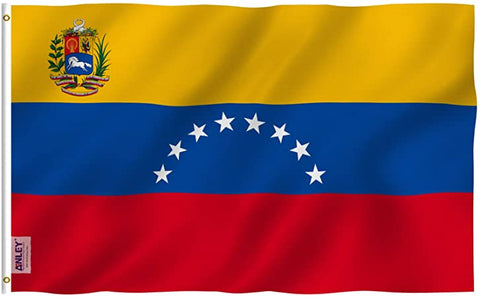 Anley Fly Breeze Series - Venezuela Polyester Flag - 3' x 5'