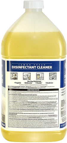 Disinfectant Cleaner - Lemon Cleaner, 1 Gal.