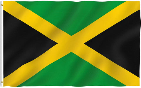 Anley Fly Breeze Series - Jamaica Polyester Flag - 3' x 5'