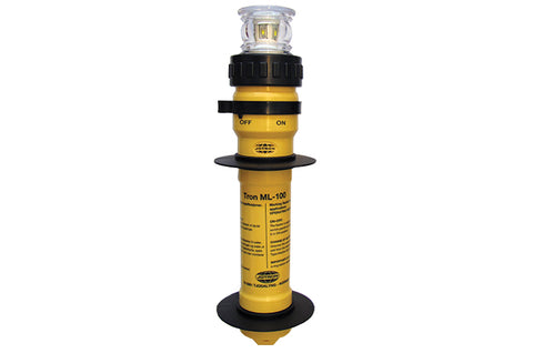 TRON ML-100 YELLOW LED 25 FLASH 5 CANDELA