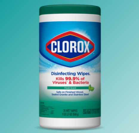 Clorox® Disinfecting Wipes - Fresh Scent 85ct.
