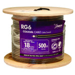 RG6 Coaxial Cable Black