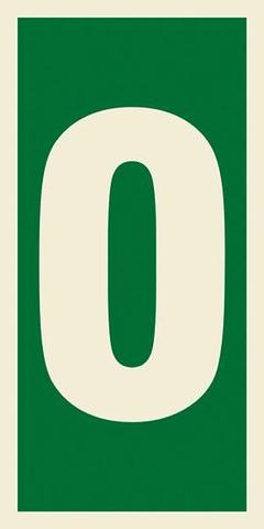 Marine Safety Sign, IMO Life Saving App. Symbol: Number 0