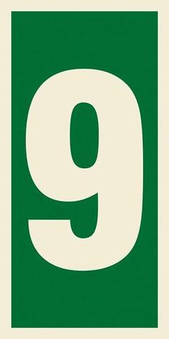 Marine Safety Sign, IMO Life Saving App. Symbol: Number 9