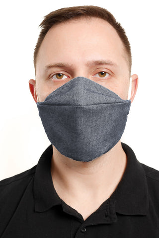 Midnight Blue Reusable Mask