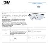 GOMMA SAFETY GLASSES