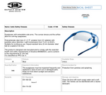 IODIO SAFETY GLASSES