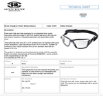 OSSIGENO CHIARO SAFETY GLASSES