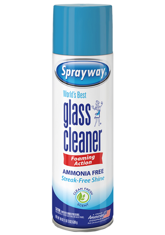 Sprayway - World's Best Glass Cleaner(Foaming Action) - 19oz.
