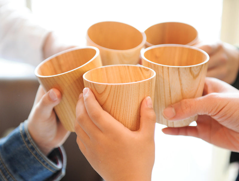 Natural Wood Cup