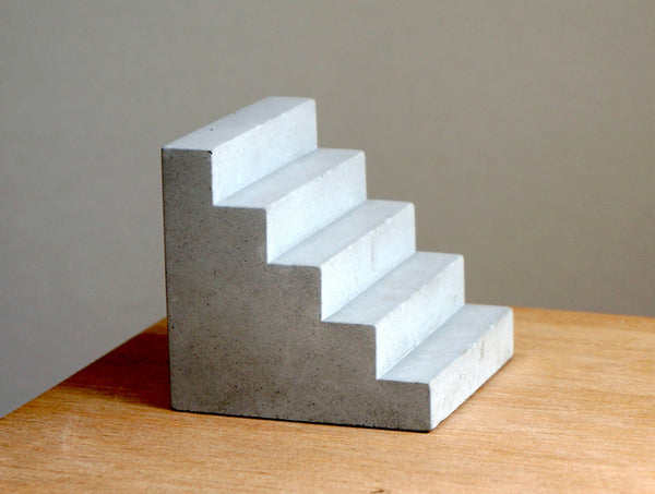 Concrete Stair Bookend