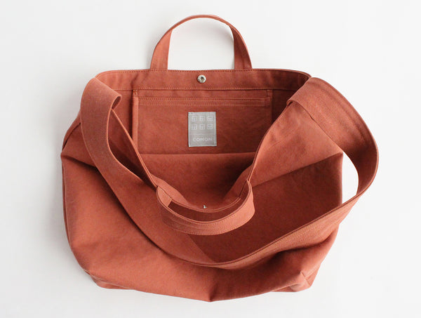 Orange Cloth Shoulder Bag