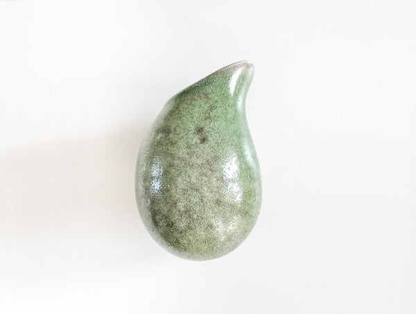 Sea Green Droplet Wall Vase S