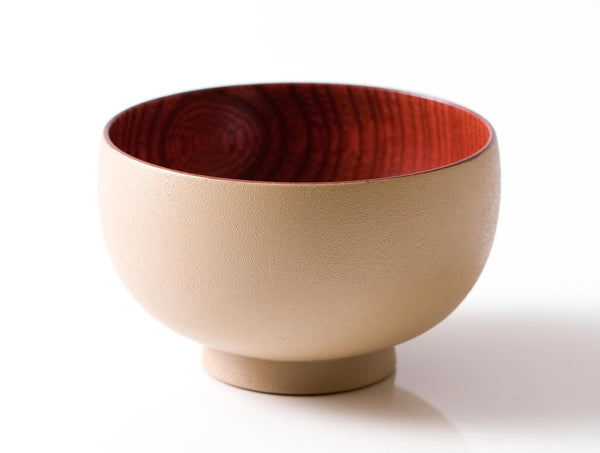 Beige Brown Sibo Bowl M